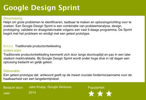 16 design sprint
