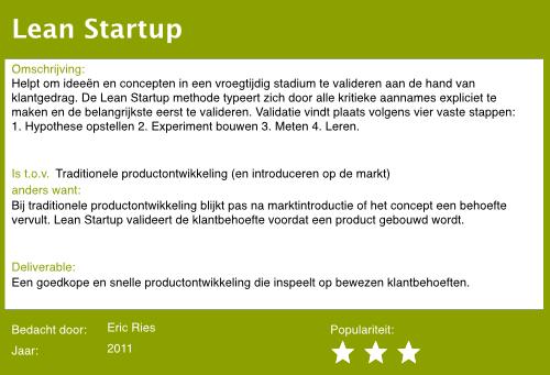 22 lean startup